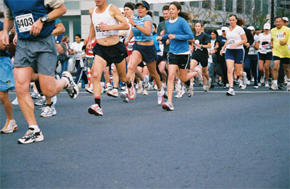 marathon runners voxifit