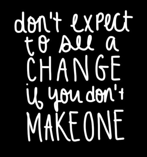 Fitness Motivation – Make A Change To See A Change   voxifit