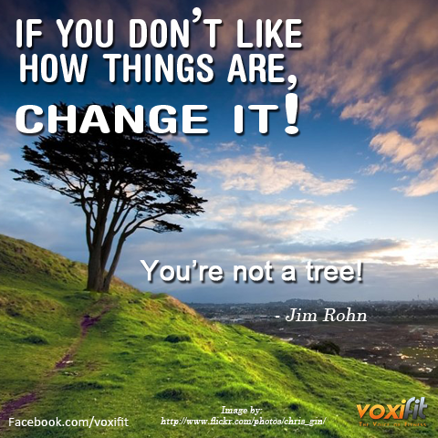 Fitness Motivation - Change it- voxifit