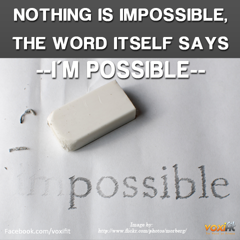 Fitness Motivation_nothing-is-impossible