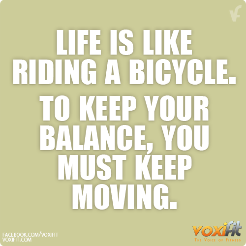 fitness-motivation-life-is-like-riding-a-bicycle