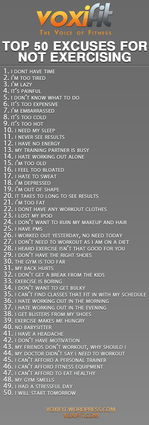 Top-50-excuses-for-not-exercising